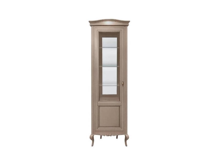 БМ: Портофино: витрина 1 дверная   левая (крем, шампань)