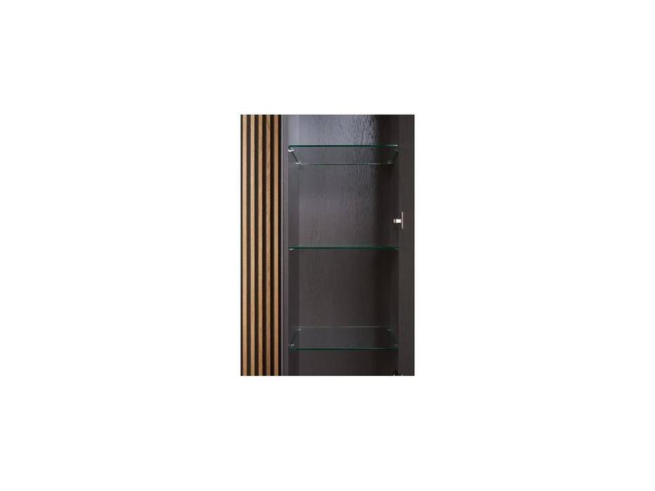 БМ: Модена: витрина 1 дверная  правая (серый)
