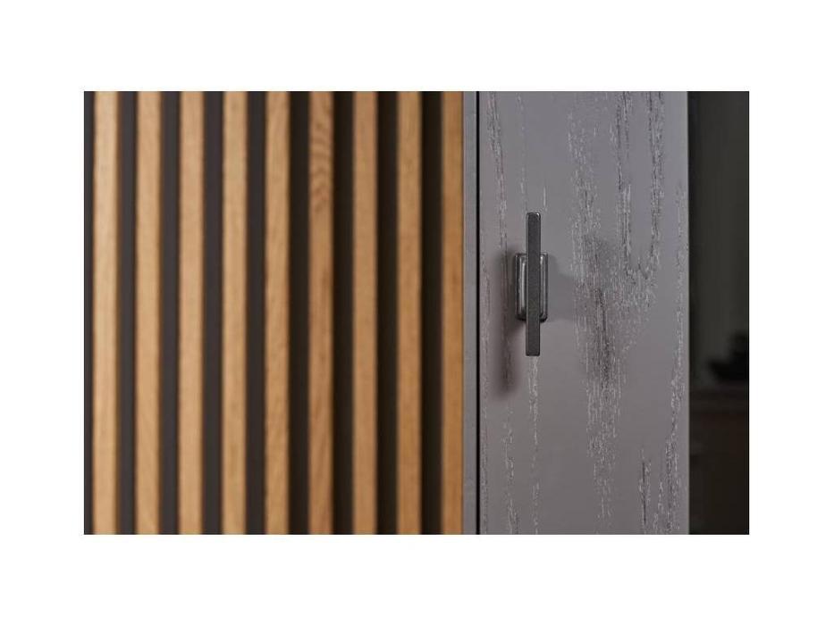 БМ: Модена: витрина 1 дверная  левая (серый)