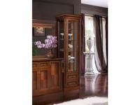 БМ: Палермо: витрина 1 дверная  левая (орех)