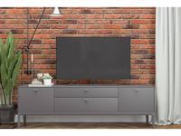 БМ: Верона: тумба под телевизор  с ящиками (мокко)