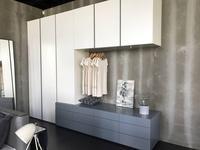 Vanguard: Helsinki: шкаф с комодной частью и навесными шкафами (лак матовый)