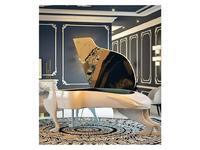 Fertini: Il gattopardo: модель цифрового фортепиано (белый лак, золотая фольга)