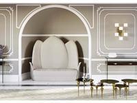 Fertini: Lotus: диван 2-х местный  (набук)