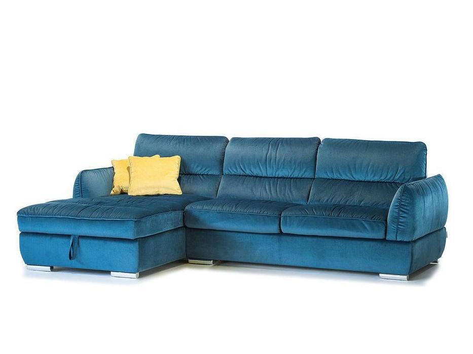 F. Divani: Висконсин Нью Промо: диван угловой раскладной (ткань)