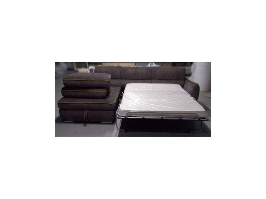 F. Divani: Висконсин: диван угловой раскладной (темно серый)