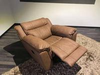 F. Divani: Алабама: кресло-качалка с реклайнером (ткань)