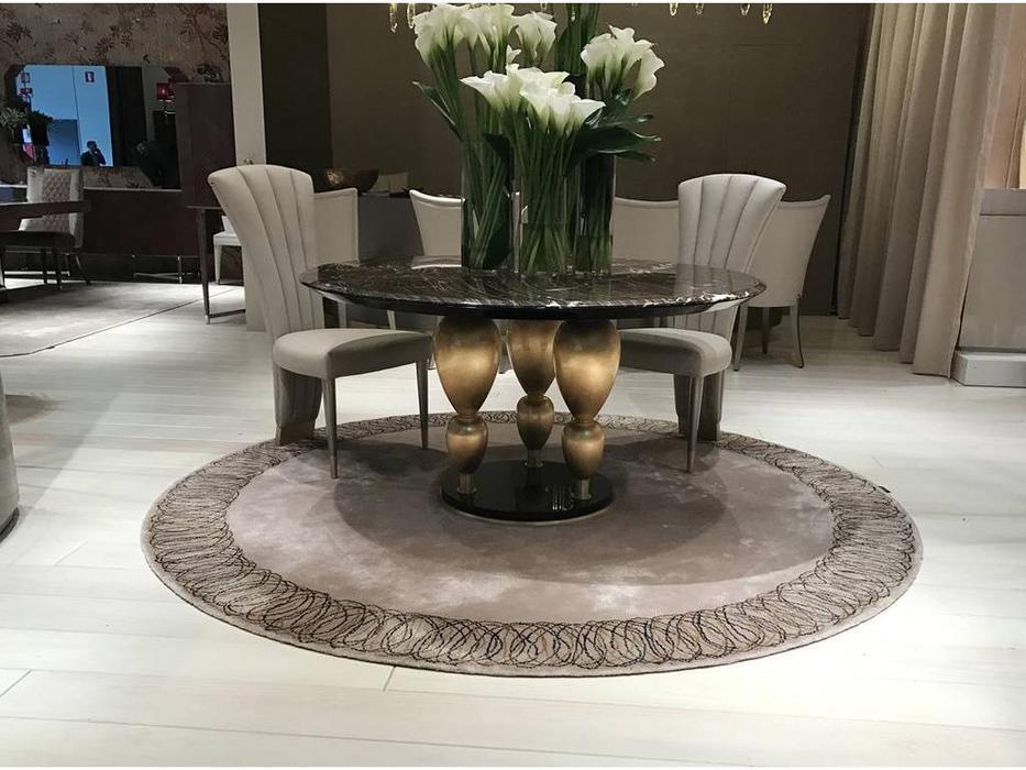 Aleal: Imperador Plus: стол (мрамор, золото)
