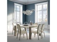Aleal: Sliding: стол обеденный  раскладной (лак, шпон)