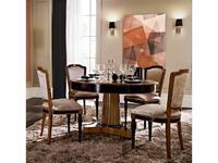 Mocape: Heritage: стол обеденный  130см (дерево, лак)