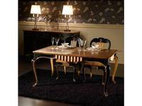 Mocape: Valois: стол обеденный  (дерево, черный)