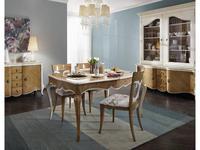 Mocape: Louise: стол обеденный  (дерево, лак)