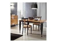 Mocape: Style: стул  (дерево, черный лак, ткань)