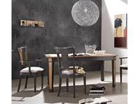 Mocape: Napoleon: стол обеденный  раскладной (дерево, лак)