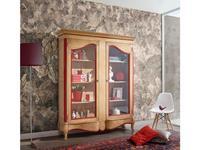 Mocape: Louise: витрина 2-х дверная  (дерево, лак красный)