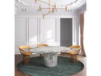 Alma de Luce: Cardosas: стол обеденный (мрамор)