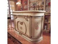 Mirandola: Arena: барная стойка  (слоновая кость состаренная, роспись)