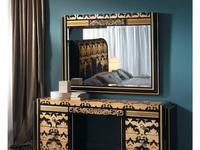 Solomando: Coleccion 24K: зеркало  (negro, sicomoro, oro)