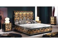 Solomando: Coleccion 24K: спальная комната (negro, sicomoro, oro)