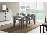 Le Fablier: Melograno: стол обеденный  раскладной (grey)