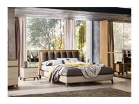 Le Fablier: Fiori di Loto: кровать 160х200 Deva  (zenzero)