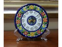 Cearco: Cercolon: тарелка-часы настенные   диаметр 14 см