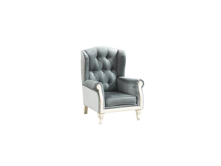 Taranko: Classic: кресло (белый, серый)