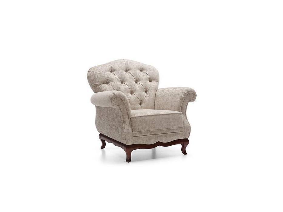 Taranko: Milano: кресло  (орех, ткань)