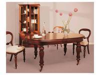 Keen Replicas: Victoriana: стол обеденный  раскладной (дерево)