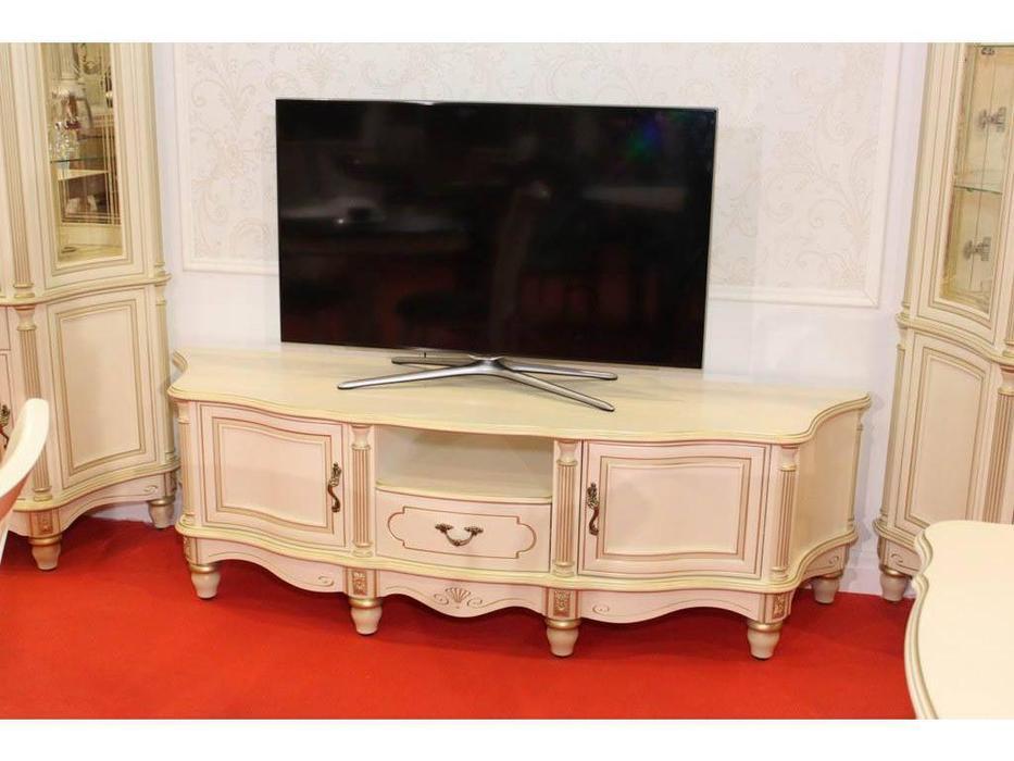 Юта: Палермо: тумба под телевизор  (шампань)