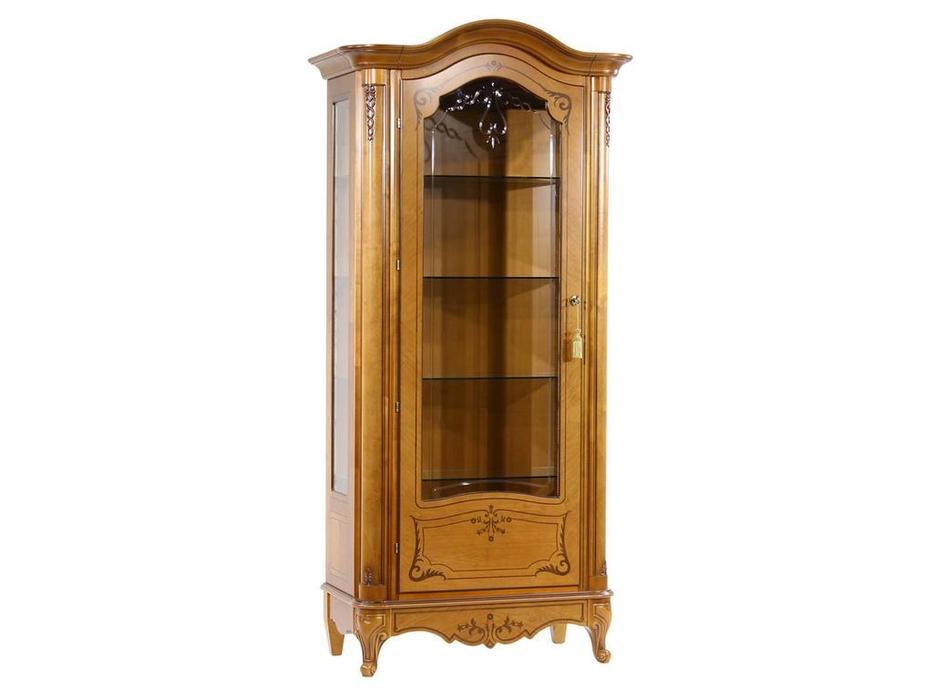 Юта: Парма: витрина 1 дверная  левая (золотистая груша)