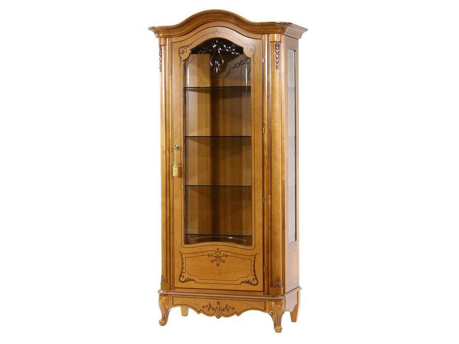 Юта: Парма: витрина 1 дверная  правая (золотистая груша)