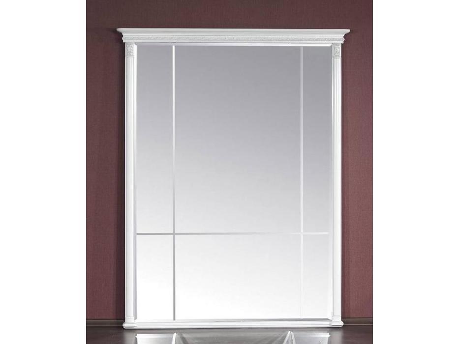 Юта: Милан: зеркало навесное  большое (белый)