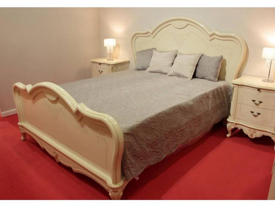Юта: Парма: кровать 180х200  (бежевый)