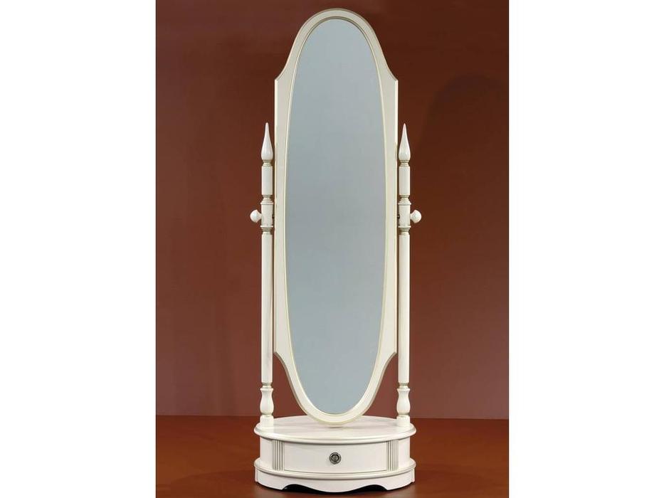 Юта: Грация: зеркало напольное  (крем)