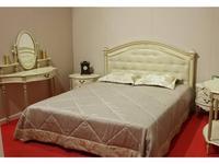 Юта: Палермо: кровать 160х200  с высоким изголовьем (шампань)