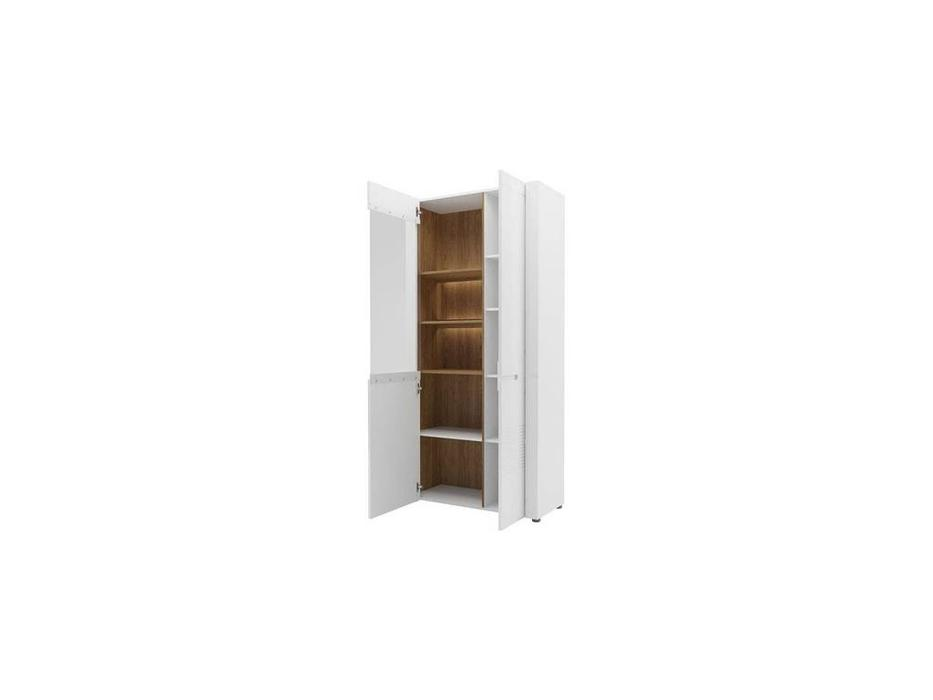 витрина 2 дверная