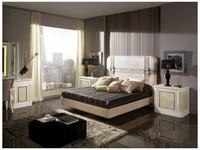Canella: Audere: кровать 180х200   (кожа, ткань)