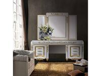 Canella: Babel: стол туалетный  (белый, золото)
