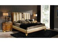Canella: Babel: кровать180х200   180х200 (орех, золото, ткань)