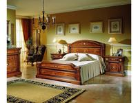 Canella: Aleman: кровать 180х200  (шпон, инкрустация)