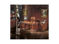 Canella: Aleman: стол письменный  (шпон, инкрустация)