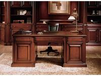 Canella: Luxor: стол письменный  (шпон орех)