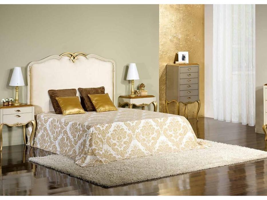 Antika: Desire: кровать двуспальная  160 (лак, ткань)