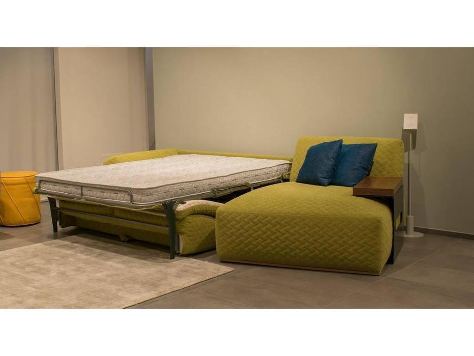 Dienne: Bubble: диван угловой  раскладной (желтый)