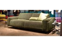 Dienne: Spase: диван 3 местный MAXI раскладной (ткань, зеленый)