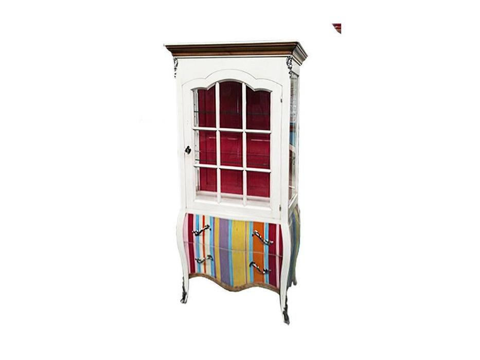 Decor Home: Neo: витрина 1 дверная  (шпон, лак)