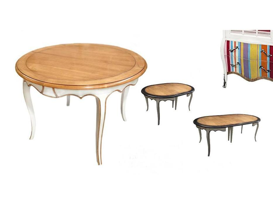 Decor Home: Neo: стол обеденный  раскладной (шпон, лак)