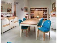 Decor Home: Paula: стол обеденный  раскладной (шпон, лак)
