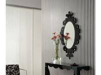 Tomas & Saez: Praha: зеркало настенное  (черный)
